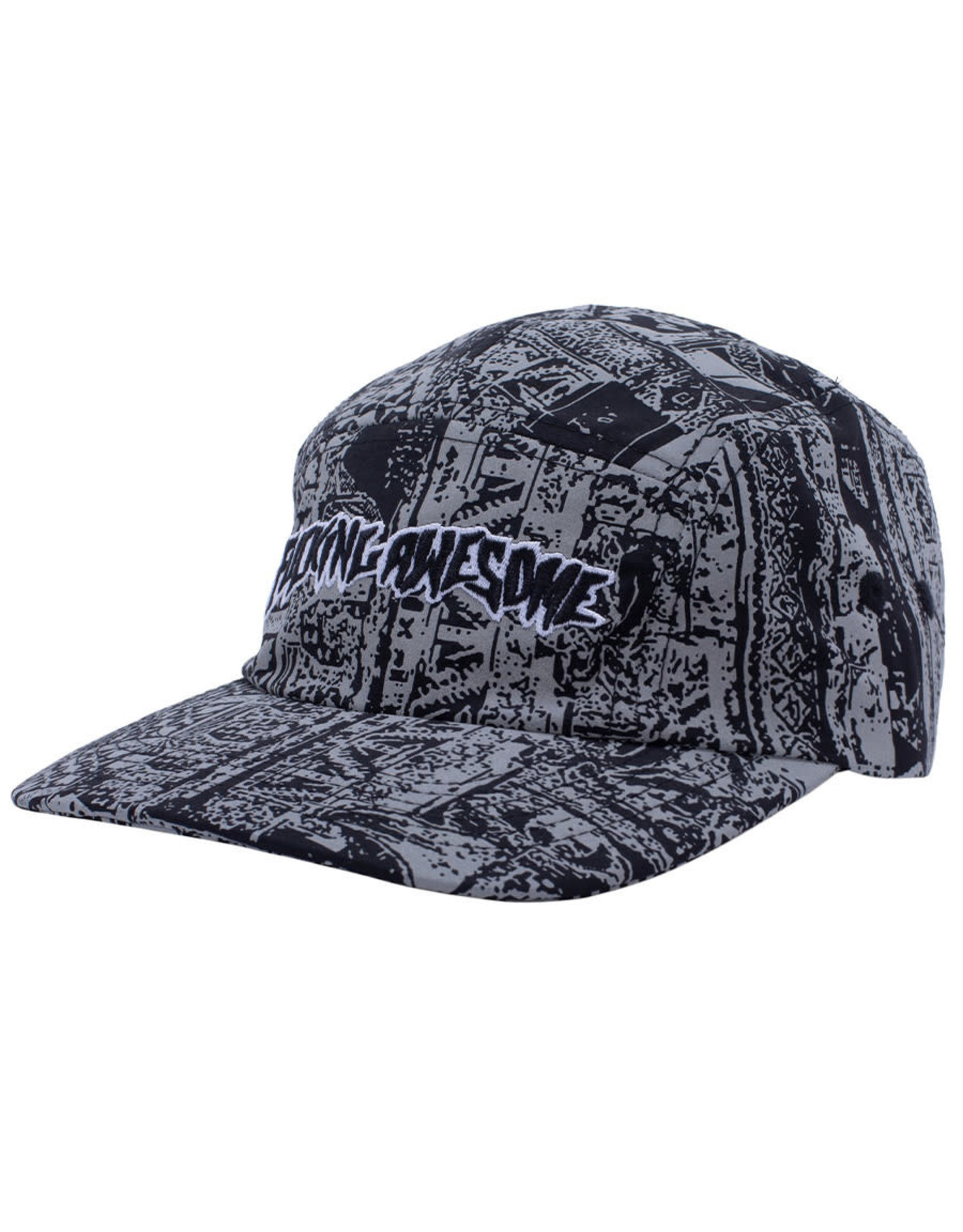 Fucking Awesome Fucking Awesome Hat Acupuncture Volley Strapback (3M/Black)