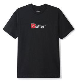 Butter Goods Butter Goods Tee Bold Classic Logo S/S (Black)