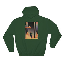 Picture Show Picture Show Hood Visitor Pullover (Forest)