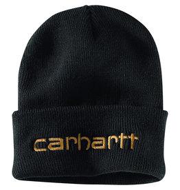 Carhartt Carhartt Beanie Logo Graphic Cuff (Black)