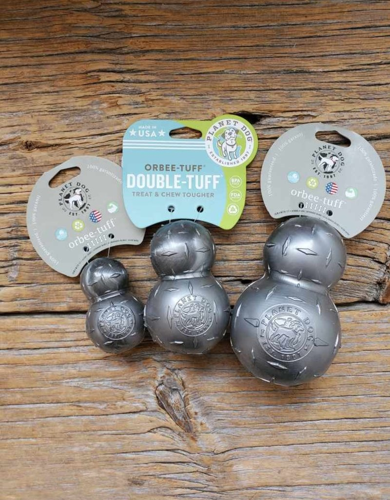 Made in The USA Planet Dog Orbee-Tuff Diamond Plate Dog Ball Nearly Indestructible Dog Chew Toy