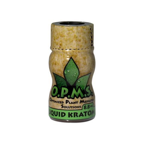 OPMS Gold Kratom Extract Shots
