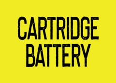 Cartridge Battery