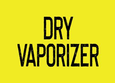 Dry Vaporizer