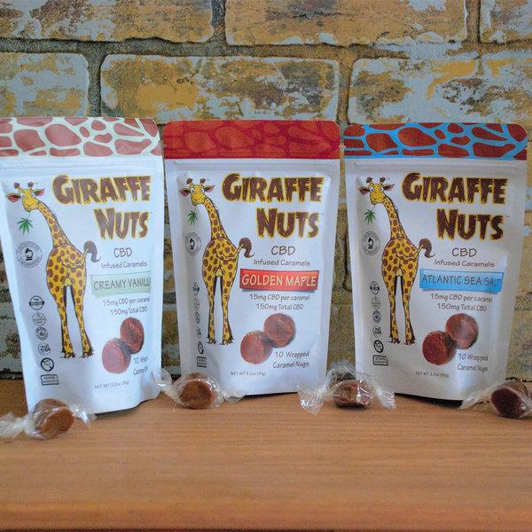 Giraffe Nuts Giraffe Nuts Caramels