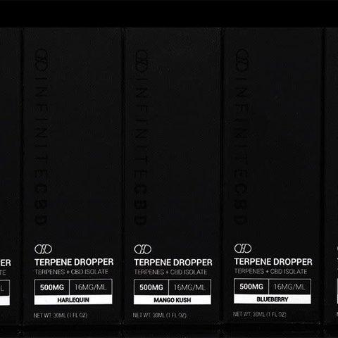 Infinite CBD Isolate CBD Terpene Droppers