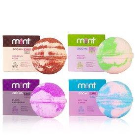 Mint CBD Bath Bombs