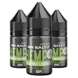 Mr. Salt-e Hemp Mr. Salt-e Hemp Full Spectrum CBD Vape Liquid