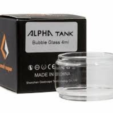 Geekvape Alpha Tank 4ML Replacement Bubble Glass