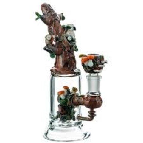 Empire Glassworks Mini Rig Hootie's Tree