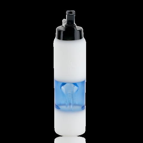 Empire  Glassworks Mini Rig Water Bottle Large White