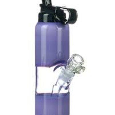 Empire  Glassworks Mini Rig Water Bottle Purple