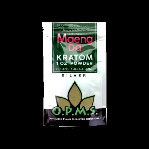 OPMS Kratom Silver Powder