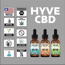 Hyve Hyve Full Spectrum CBD Tincture