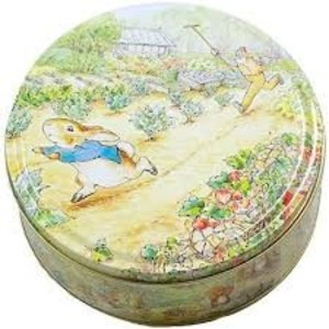 Beatrix Potter Peter Rabbit Medium Round Tin