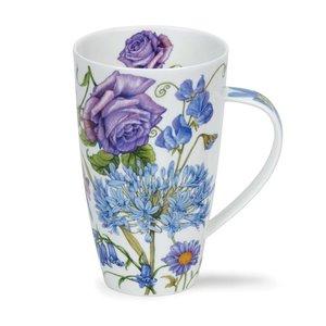 Dunoon Henley Shaftesbury Blue Mug