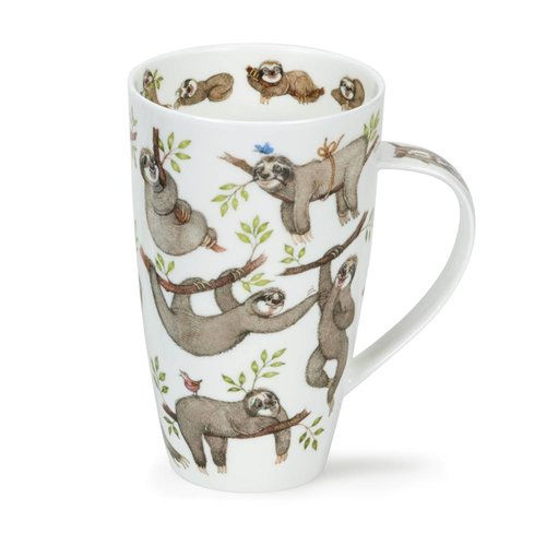 Dunoon Henley It's A Sloth's Life Mug