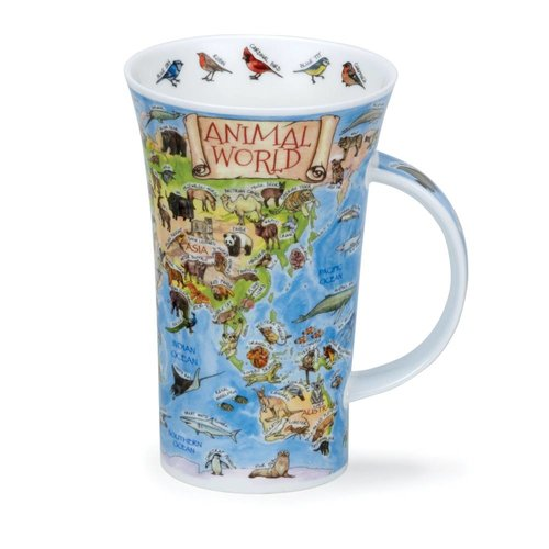 Dunoon Dunoon Glencoe Animal World Mug