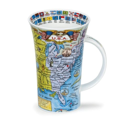 Dunoon Dunoon Glencoe The USA Mug