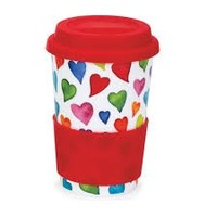 Dunoon Travel Mug Warm Hearts