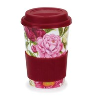 Travel Mug Peonies