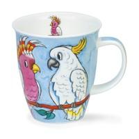 Dunoon Nevis Tropical Birds Cockatoos Mug