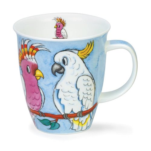 Dunoon Dunoon Nevis Tropical Birds Cockatoos Mug