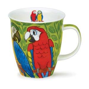 Dunoon Dunoon Nevis Tropical Birds Macaws Mug