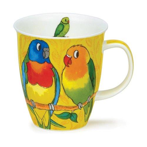 Dunoon Dunoon Nevis Tropical Birds Parakeets Mug