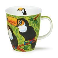 Dunoon Nevis Tropical Birds Toucans Mug