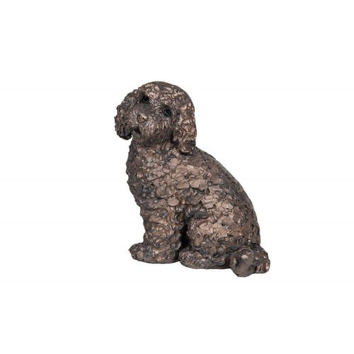 Frith Sculpture Frith Jasper Cockapoo Sitting: AT041