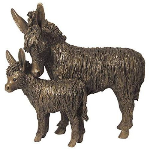 Frith Sculpture Frith Donkey & Foal Standing