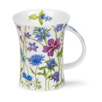 Dunoon Richmond Meadow Lane Blue Mug