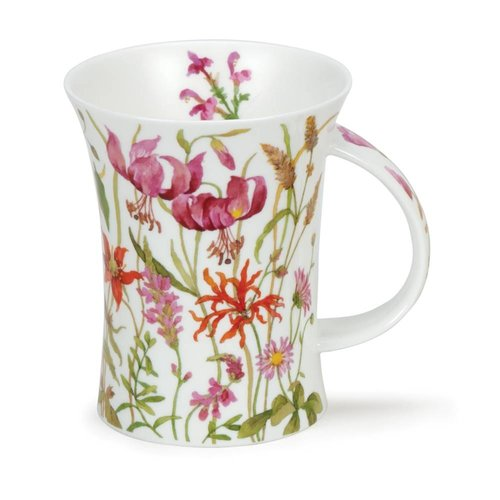 Dunoon Richmond Meadow Lane Orange Mug