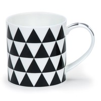Dunoon Orkney Mono Triangles Mug
