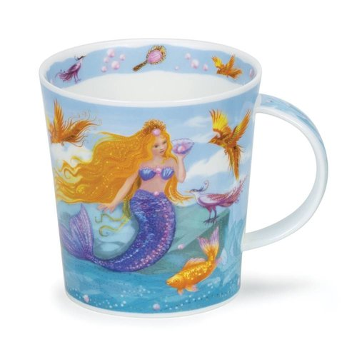 Dunoon Lomond Mermaids Purple Mug