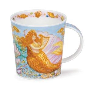 Dunoon Lomond Mermaids Yellow Mug