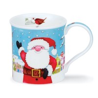 Dunoon Bute Christmas Post Santa Mug