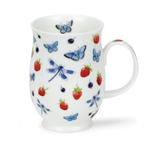 Dunoon Suffolk Evesham-Strawberry Mug