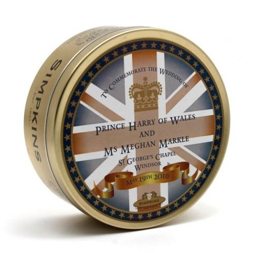 Simpkins Simpkins Harry & Meghan Wedding Commemorative Tin - Crown