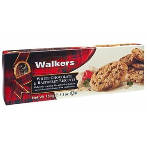 Walker's Shortbread Co. Walkers White Chocolate Raspberry Biscuits