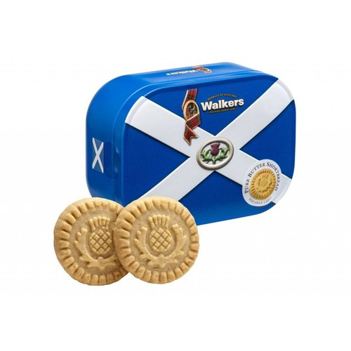 Walker's Shortbread Co. Walkers Saltire Shortbread Tin