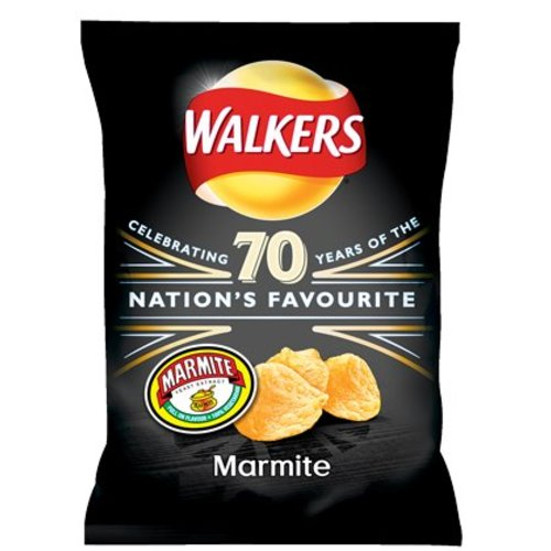 Walker's Walkers Marmite Crisps