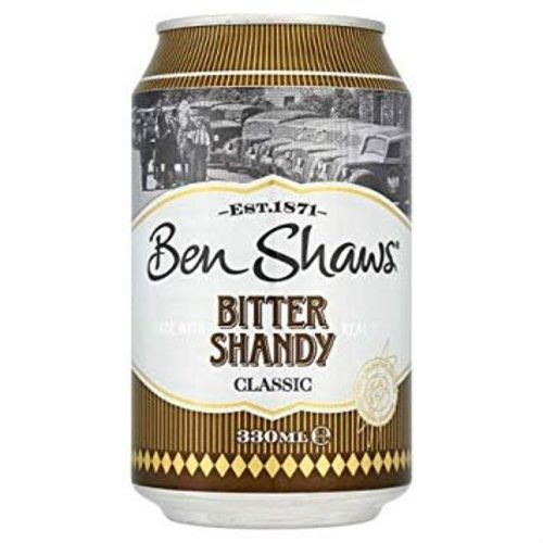 Ben Shaws Bitter Shandy Classic