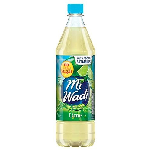 MiWadi Lime No Sugar Added 1L