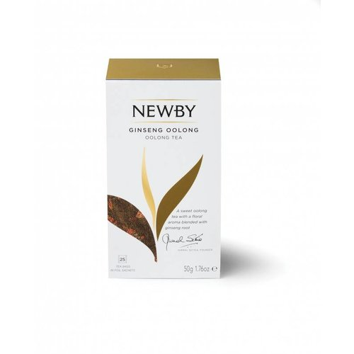 Newby Newby Ginseng Oolong 25ct