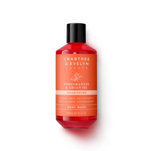 Crabtree & Evelyn C&E Pomegranate & Argan Oil Body Wash