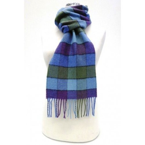 Calzeat Calzeat & Co. Border Lambswool Scarf Lagos Carousel