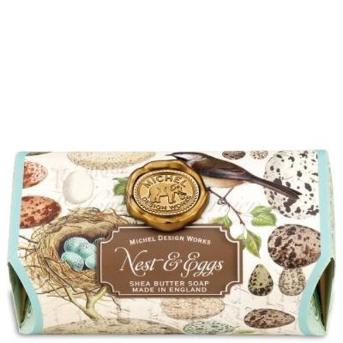 Michel Design Works Nest & Eggs Large Bath Soap Bar