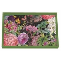 Botanical Garden Wooden Vanity Tray